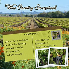 Contact Wine Country Scrapbook